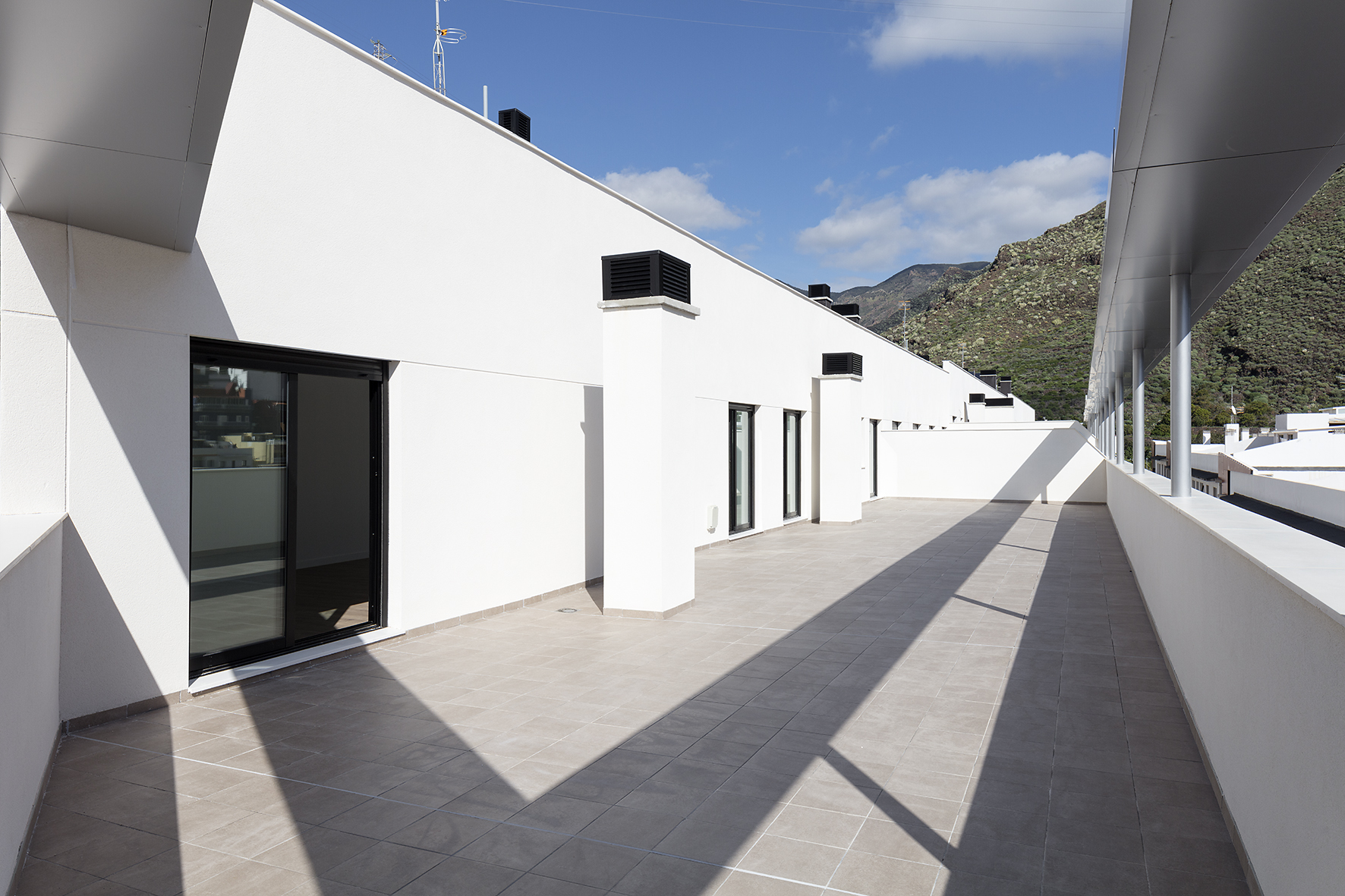 Terraza ático Residencial Aguaviva Tenerife