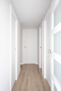 Pasillo de acceso a dormitorios