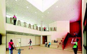 Interior Colegio Casalarreina