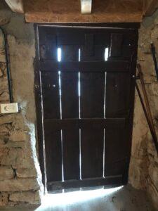 Puerta de acceso Antes